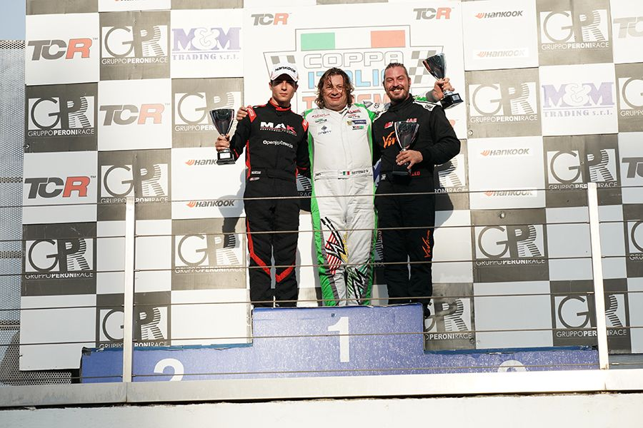 Coppa Italia wins for Bettera and Barbolini at Vallelunga
