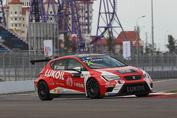 Spanish drivers beat Russians in the test session