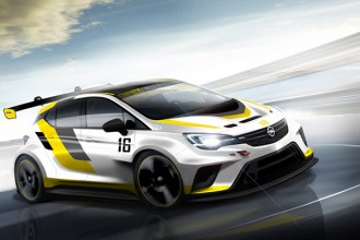 Opel develops new Astra OPC for TCR International Series