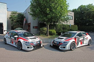 Two JAS Honda cars for TCR Asia Series