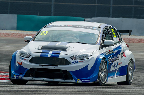 Ávila wins first TCR Asia race at Sepang