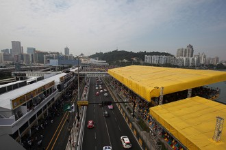 TCR grand finale at Macau Guia Race