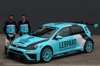 Leopard Racing unveils livery of its VW Golf Gti TCR