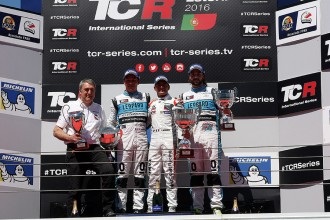 Quotes from the podium finishers in Estoril Race 1