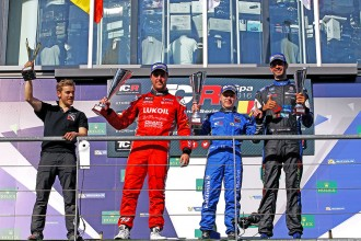 Quotes from the podium finishers in Spa Race 1