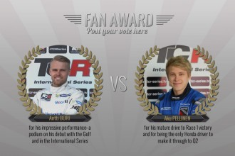 An all-Finn fight for the Fan Award !