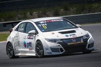 Tin Sritrai claims pole in TCR Asia opening