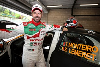 Tiago Monteiro is the guest star in TCR Benelux opener