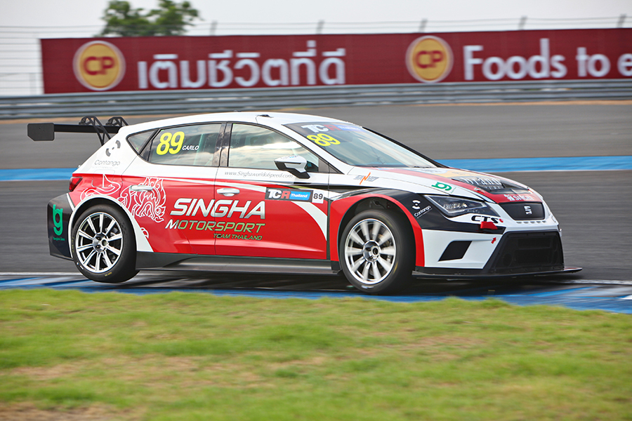 TCR Thailand on the starting blocks