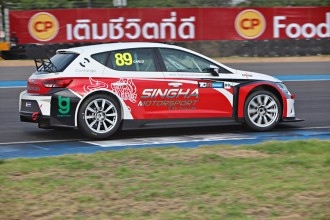 TCR Thailand: Van Dam makes Thai motorsport history