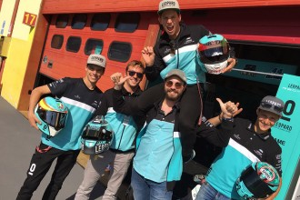 Comini and Vernay visited fellow bikers at Mugello