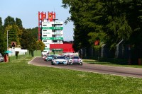 Comini and Grachev shared victories in Imola eventful day
