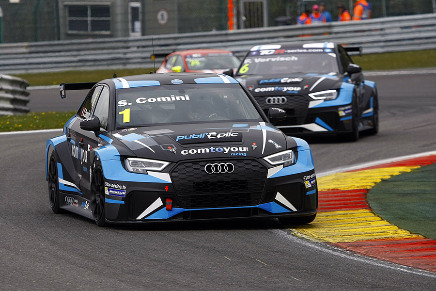 Comini and Vervisch make an Audi 1-2 in Qualifying - TCR HUB