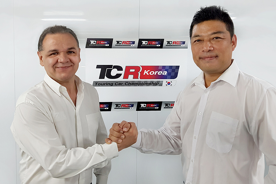 TCR Korea series to be launched in 2018