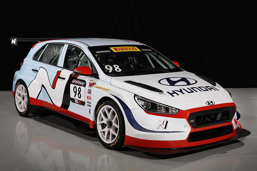 Hyundai cars for Bryan Herta Autosport