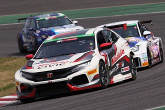 Maiden victory for the new Honda Civic FK7 TCR