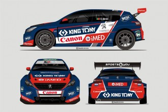 A Peugeot for Francisco Abreu in TCR Europe