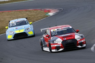 Langeveld leads an Audi 1-2-3 in Austrian Qualifying