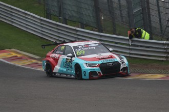 Vernay on pole for Spa Race 1 with Potty alongside him