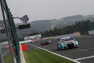 Jean-Karl Vernay wins TCR Europe Race 1 at Spa