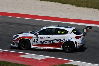 Ferrara places his Alfa Romeo on pole at Misano