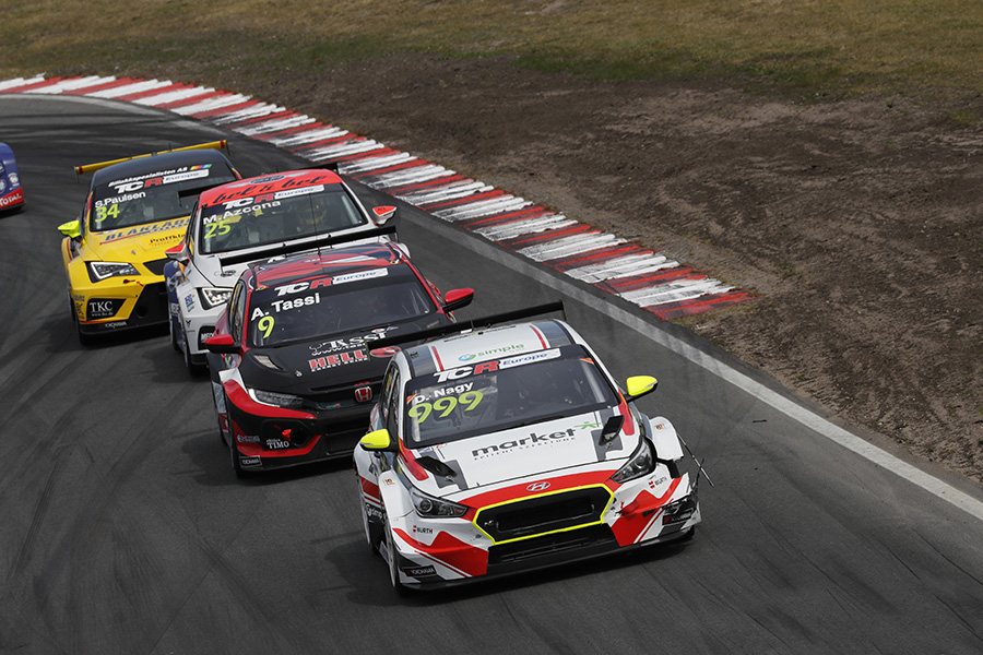 Nagy and Tassi aim for victory at the Hungaroring