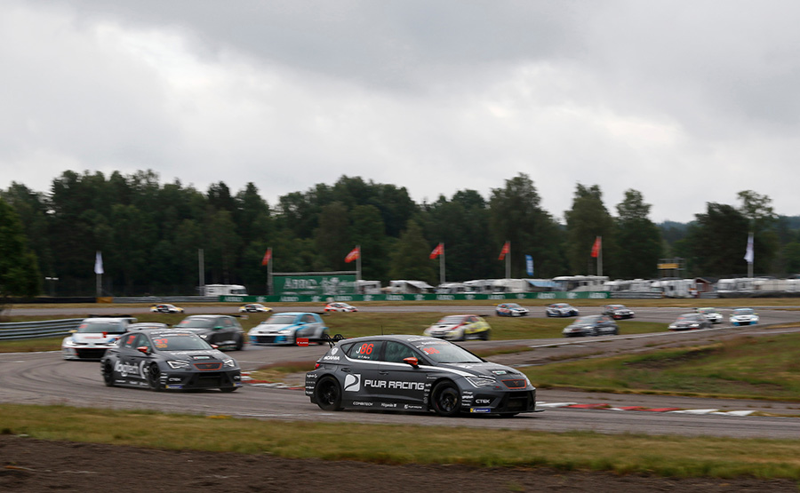 TCR Scandinavia's third round at Falkenberg