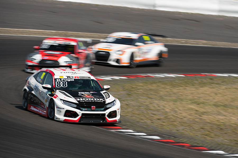 Dominik Fugel returns to victory in a red-flagged Race 2