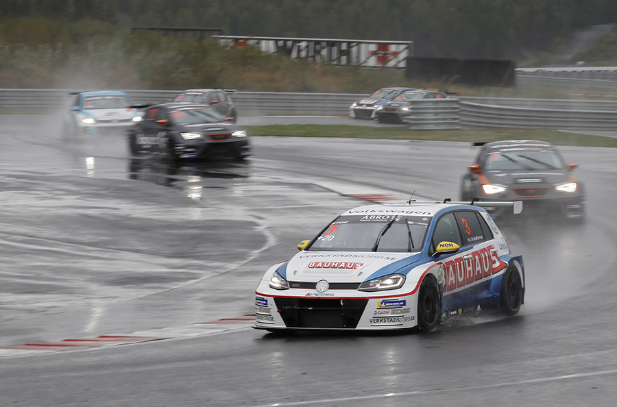 Kristoffersson masters the rain in Norway