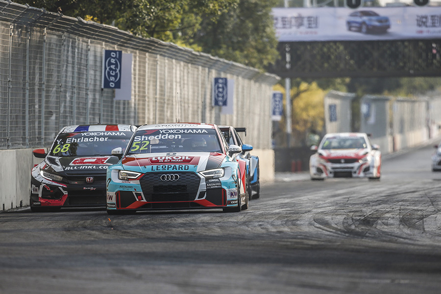 Shedden wins an action-packed Race 3 at Wuhan