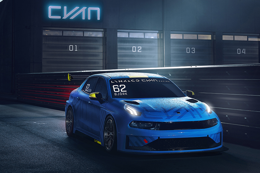 The Geely Group develops a TCR racing car