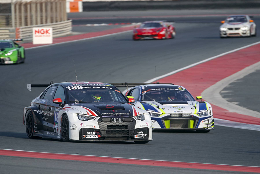 AC Motorsport tops TCR class in 24H Dubai Qualifying