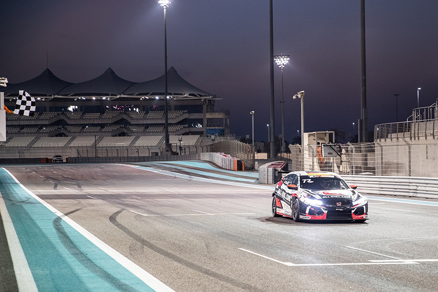 Münnich claims third TCR Middle East win in Abu Dhabi