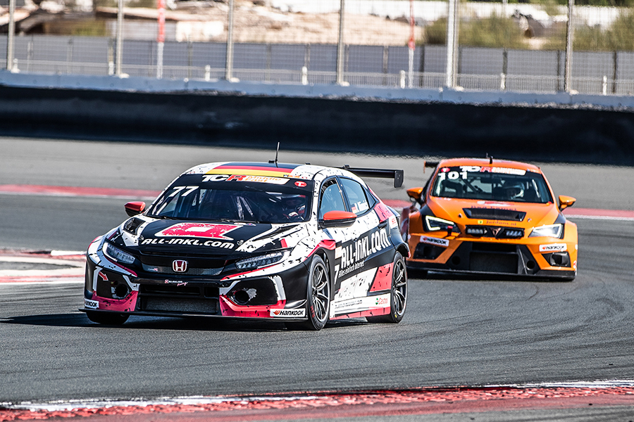 Münnich is crowned TCR Middle East champion in Dubai