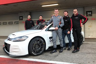 Maxime Potty rejoins WRT for TCR Europe