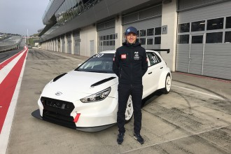 BRC Racing with Luca Filippi in TCR Europe