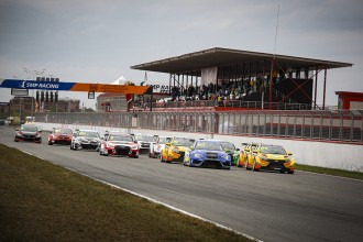 A strong 26-car field in TCR Russia's opener