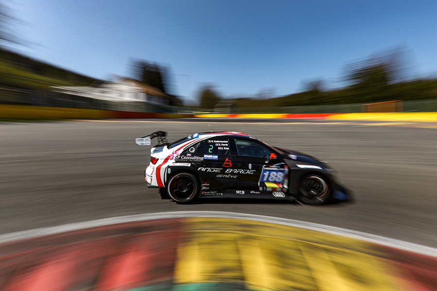 AC Motorsport leads 12H Spa after the first part