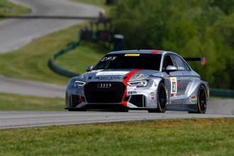 Britt Casey jr gives Audi first TC America pole