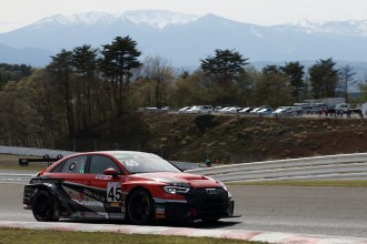 The BRP Audi RS 3 LMS wins Super Taikyu at Sugo