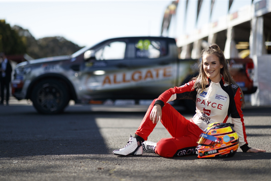 Chelsea Angelo to drive a Kelly Racing Opel Astra