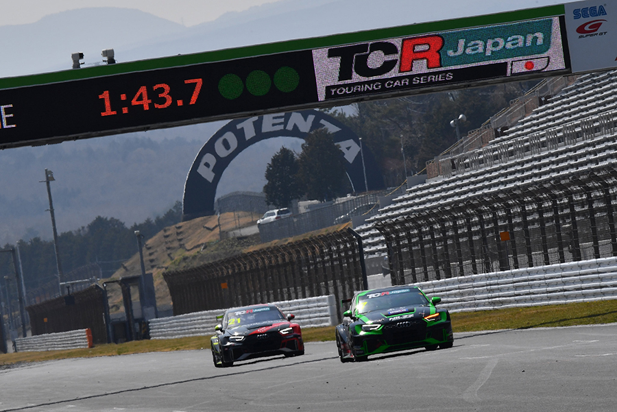 Autopolis hosts TCR Japan's first ever event