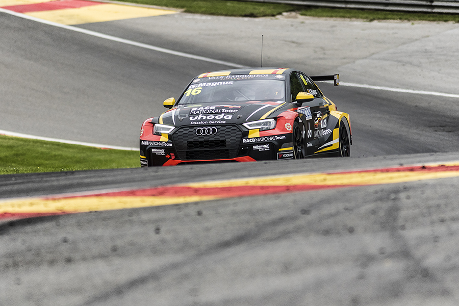 Magnus to start from pole in TCR Europe at Spa