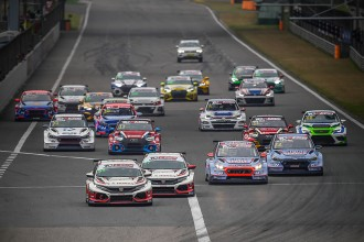 TCR Asia and TCR China together at Zhejiang