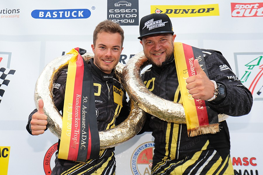 Max Kruse Racing's Golf cars make a 1-2 in VLN