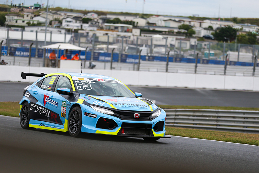 Lights-to-flag win for Michelle Halder at Zandvoort
