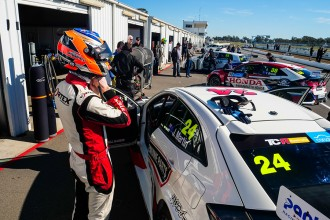 22 drivers took part in TCR Australia test at Winton