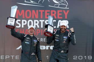 A crucial victory for Ernstone-Morley at Laguna Seca
