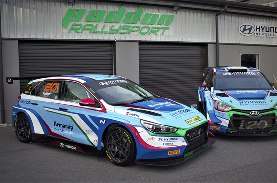 World Rally star Hayden Paddon in TCR New Zealand