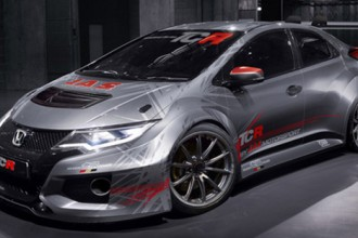 The first picture of the Honda Civic TCR
